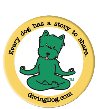 Giving Dog Sticker