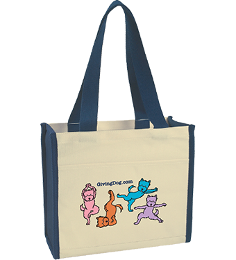 Giving Dog Tote Bag